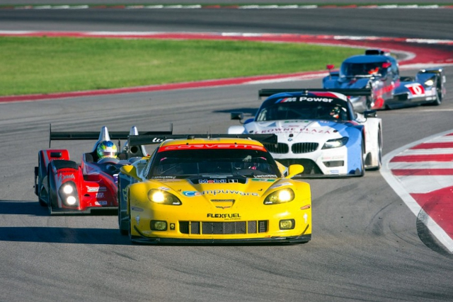 Co-drivers Antonio Garvia and Jan Magnussen are in prime position to clinch the title (Credit: Richard Prince for Corvette Racing)
