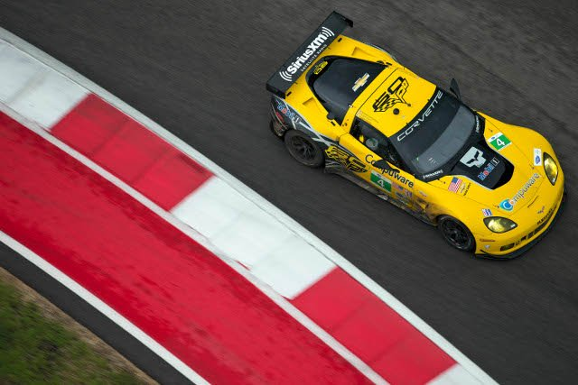 Corvette Racing slipped to just eighth and ninth in qualifying (Credit: Richard Prince for Corvette Racing)