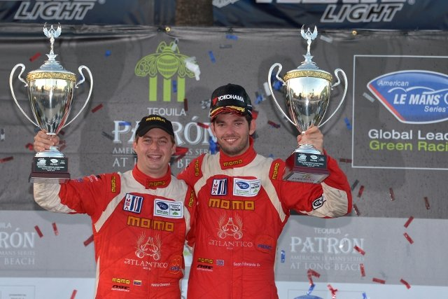 Edwards and Cisneros took victory at Long Beach earlier this season (Credit: Ryan Smith)