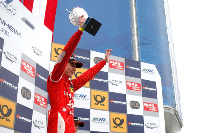 Race two victory helped Marciello to the title (Credit: FIA F3 European Championship)