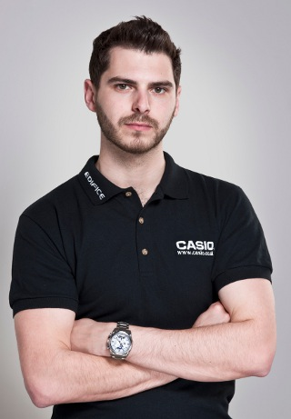 Tom Onslow-Cole (Credit: Casio)