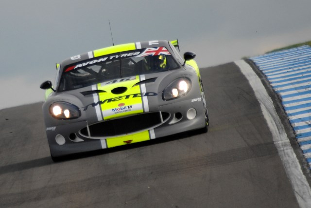 Bradley Ellis gave British GT debutants Twisted Team Parker GT pole (Credit: Chris Gurton Photography)