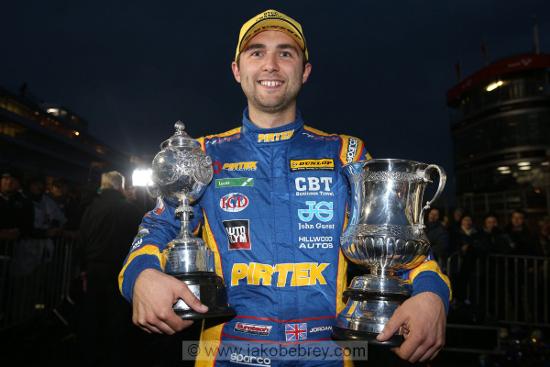 Andrew Jordan - 2013 Dunlop MSA British Touring Car Championship Drivers Champion & Independents Drivers Champion
