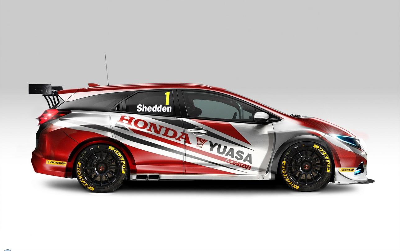 BTCC Honda 2014 Tourer