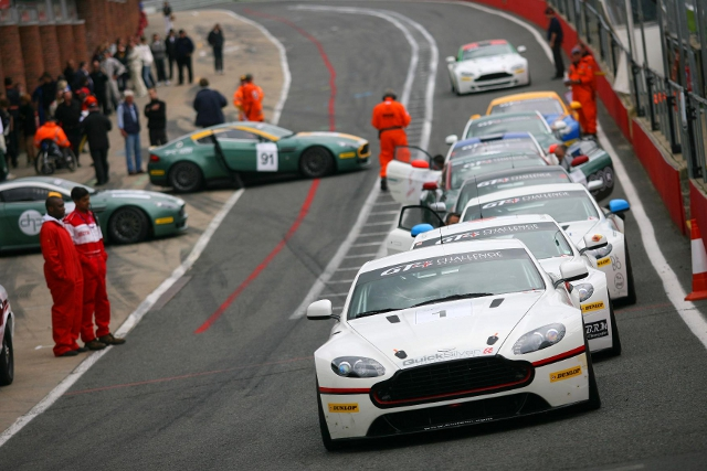 The Aston Martin GT Challenge of Great Britain will support British GT on four events (Credit: Aston Martin)