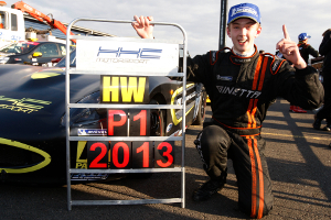 Woodhead Celebrates His Title Success -Credit: Jakob Ebrey Photography