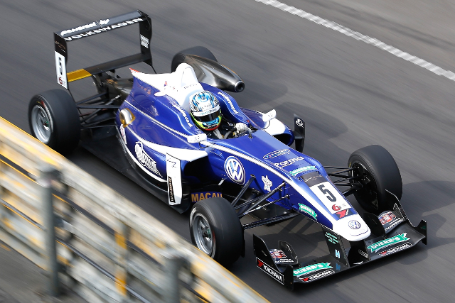 Jordan King Macau - Credit: Volkswagen Motorsport