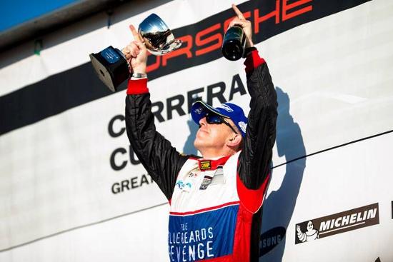 Pete Smallwood - 2013 Porsche Carrera Cup Great Britain 'Pro-Am 2' Champion