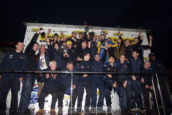 Pirtek Racing - 2013 Dunlop MSA British Touring Car Championship Independents' Team's Champions