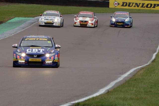 A superb Rockingham double was the crucial moment for Jordan (Photo: btcc.net)