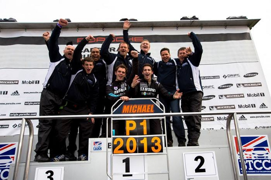 Samsung Smart Motorsport - 2013 Porsche Carrera Cup Great Britain 'Teams' Champions