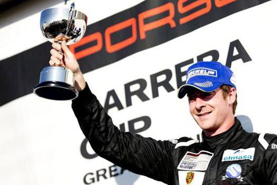 Victor Jimenez - 2013 Porsche Carrera Cup Great Britain 'Pro-Am 1' Champion