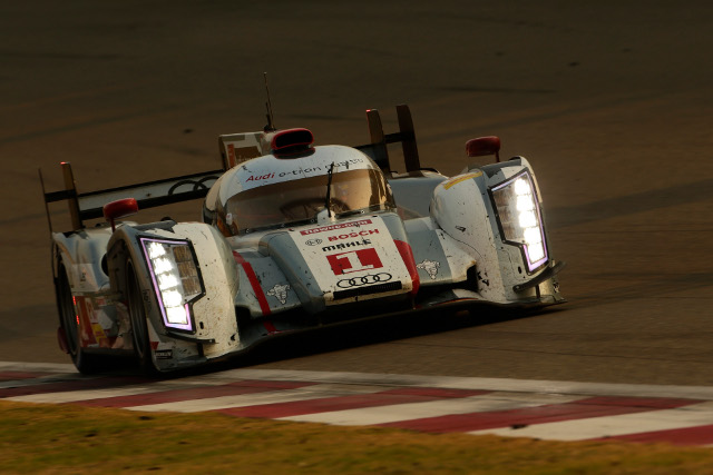 Audi's #1 team won the race, the #2 team took the title in third (Credit: Audi Motorsport)