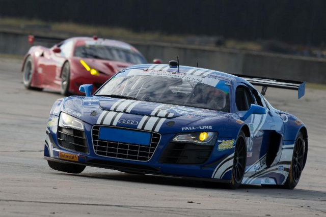 The Fall-Line Audi completed four days of trouble free testing in the Florida sessions (Credit: Fall-Line Motorsports)