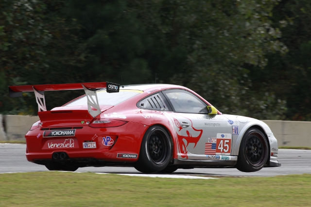 Flying Lizards moved into the ALMS' GTC class for 2013 (Credit: Porsche North America)