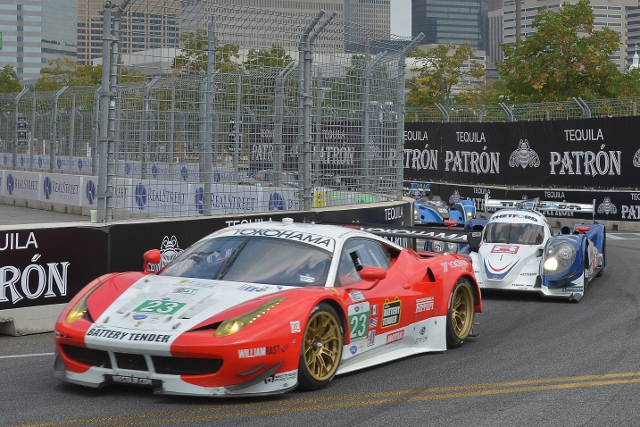 After racing for Alex Job Racing in the ALMS last season Sweedler and Bell will join Level 5 (Credit: Kelsi Nilsson)