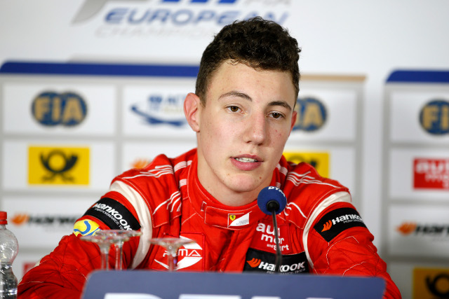 Marciello and his felow F3 runners flew in from Macua for the test session (Credit: FIA F5 European Championship)