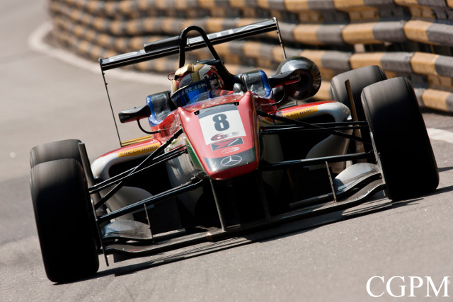 Marciello bettered Felix Rosenqvist's first session time (Credit: CGPM)
