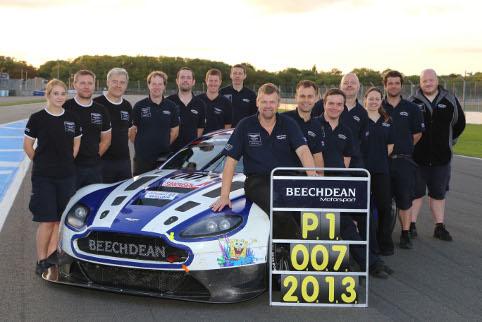 Beechdean gave Aston Martin success on home soil (Credit: Jakob Ebrey Photography)