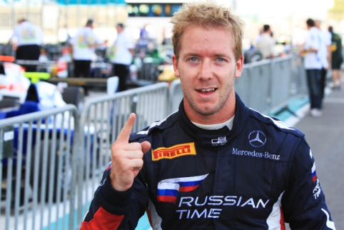 Bird was Britain's best in GP2, helping his Russian Time team to a title (Credit: Sam Bloxham/LAT Photographic)
