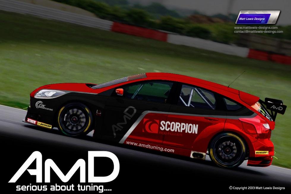 AMD 2014 Ford Focus