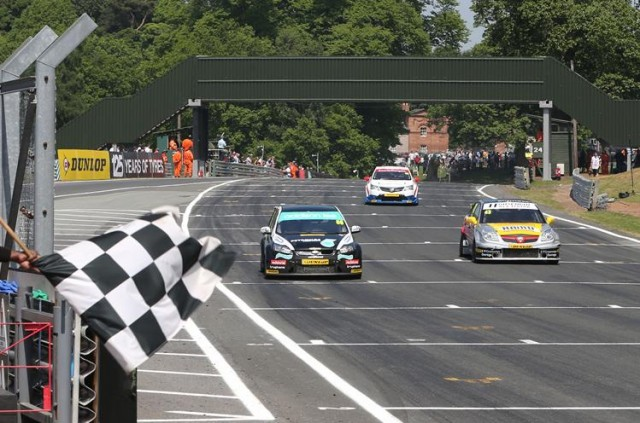 Griffin and Wood fought some stellar battles (Photo: btcc.net)