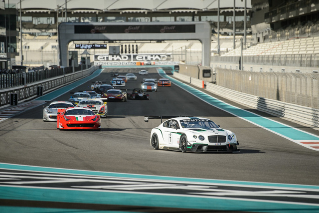 The first part of the Gulf 12 Hours gets underway (Credit: Gulf 12 Hours)