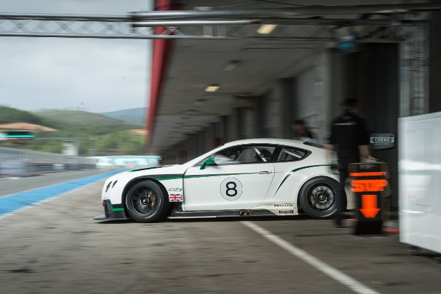 Bentley will return to racing at the Gulf 12 Hours this weekend (Credit: Bentley)