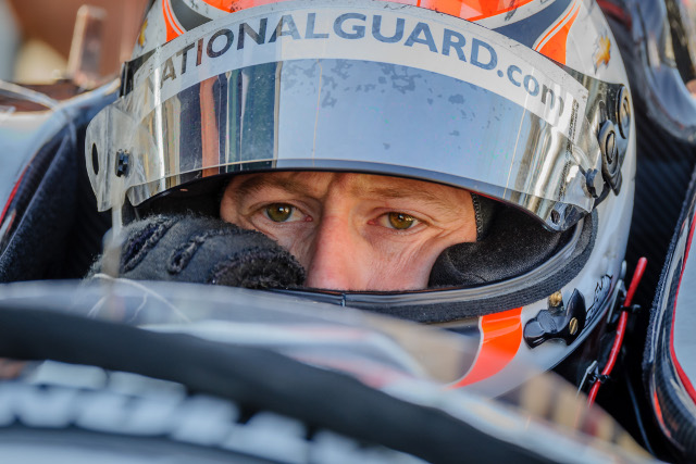 Briscoe ran a part season for Panther Racing in 2013 (Credit: Indycar media/Forrest Mellot)