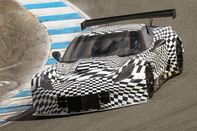 Two Corvette C7.R are coming to the TUDOR Championship (Credit: Chevy Racing)