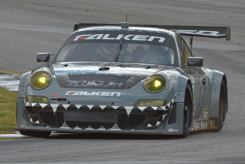 The 'Porschestein' came back from the dead to win in the final ALMS race (Credit: Kelsi Nilsson)