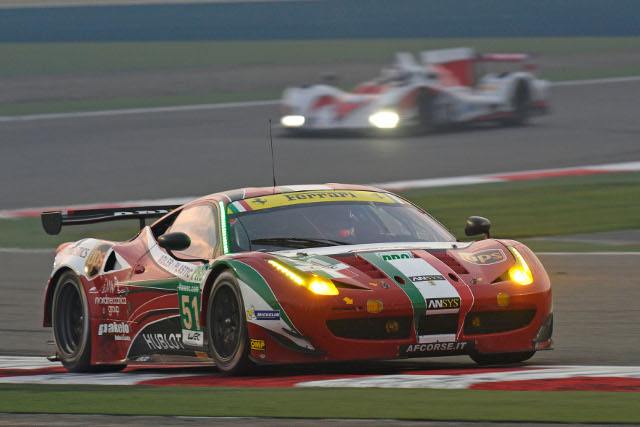 Gianmaria Bruni won the GT Drivers' title with AF Corse (Credit: Ferrari.com)
