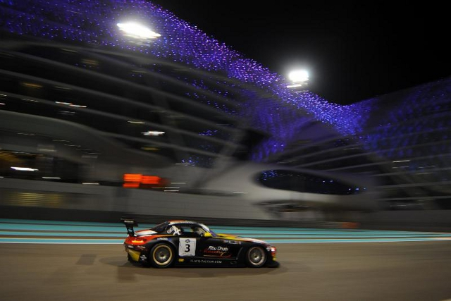Black Falcon's Mercedes will start the 12 Hours from pole (Credit: Gulf 12 Hours)