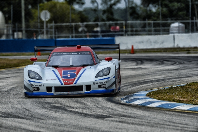 The TUDOR Championship will return for two days of testing at Sebring (Credit: IMSA)