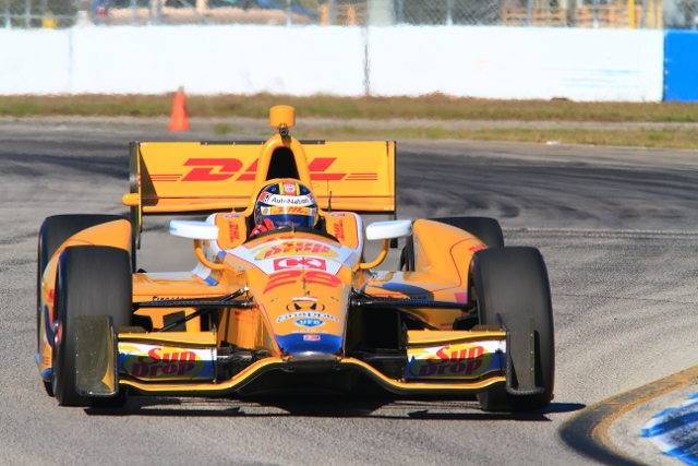 Andretti Autosport were one of several teams to test at Sebring International Raceway (Credit: John Hendrick)
