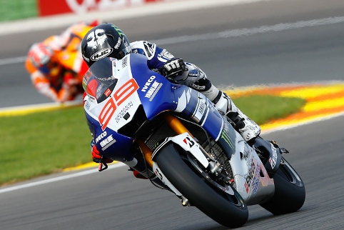 Jorge Lorenzo won the MotoGP finale, but couldn't keep Marquez from the title (Credit: MotoGP)