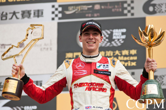 Lynn capped his 2013 with Macau GP victory (Credit: CGPM)