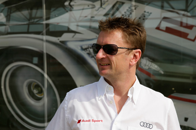Already confirmed as champion, McNish never drove the #2 Audi in the WEC finale (Credit: Audi Motorsport)