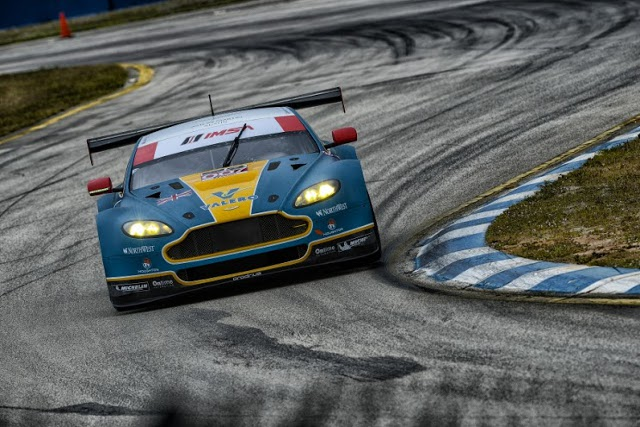Aston Martin's works entry will be one of several teams using Michelins in 2014 (Credit: IMSA)