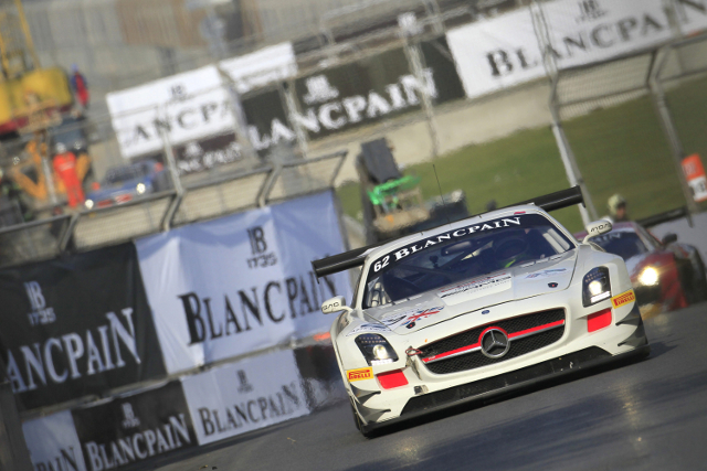 Webb will swap the Fortec Mercedes for a Lamborghini in Dubai (Credit: V-IMAGES.com/Fabre)