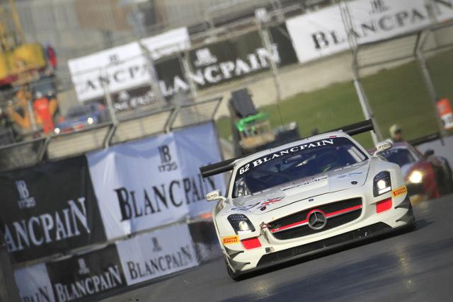 Webb will swap the Fortec Mercedes for a Lamborghini in Dubai (Credit: V-IMAGES.com/Fabre)