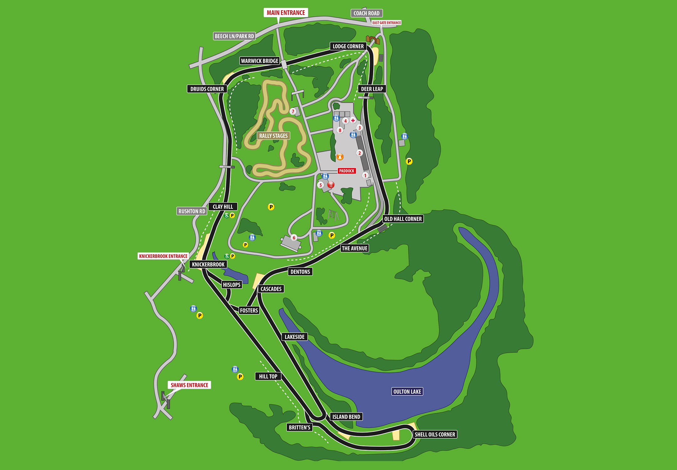 Oulton Park To Use International Layout For 2014 The