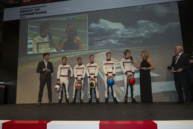 Lieb and Hartley complete the marque's LMP1 stable (Credit: Porsche AG)