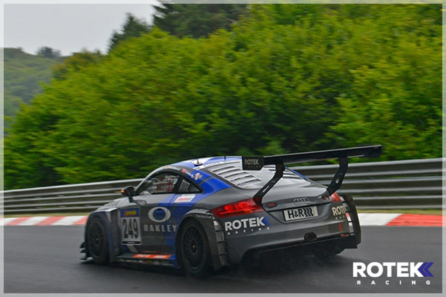 Rotek Racing will try to give Audi thier first 25 Hours victory (Credit: Rotek Racing)