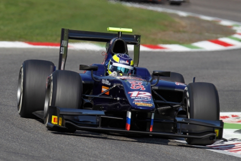 Russian Time arrived on the GP2 scene as rookies and left with the teams' title (Credit: Alastair Staley/GP2 Media Service)