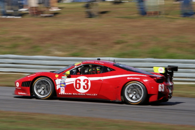 Rolex Series GT drivers' champion Alessandro Balzan remains with the team for 2014 (Credit: Grand-Am)