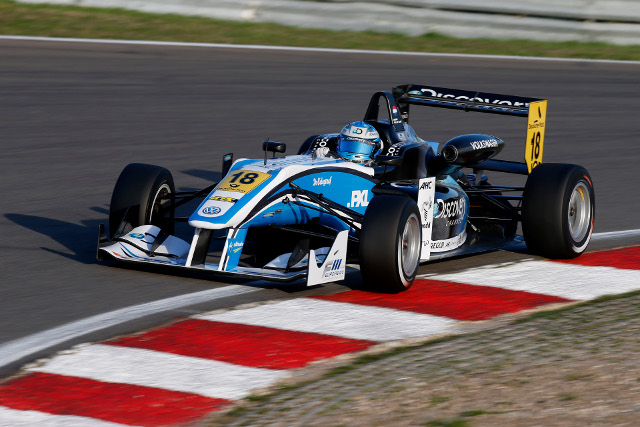 Dennis van der Laar will join Prema Powerteam for the 2014 season (Credit: F3 European Championship media)
