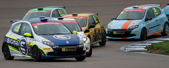 Hand Fought To A Clio Podium At Rockingham - Credit: Jakob Ebrey Photography