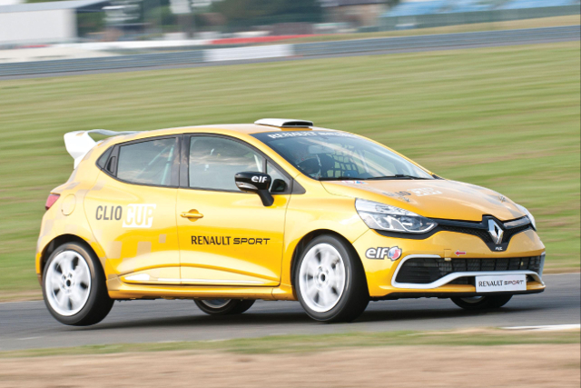 Fourth-Generation Clio Cup Racer