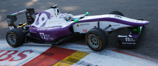 Webster In Action At Spa - Credit: Sam Bloxham/GP3 Media Service